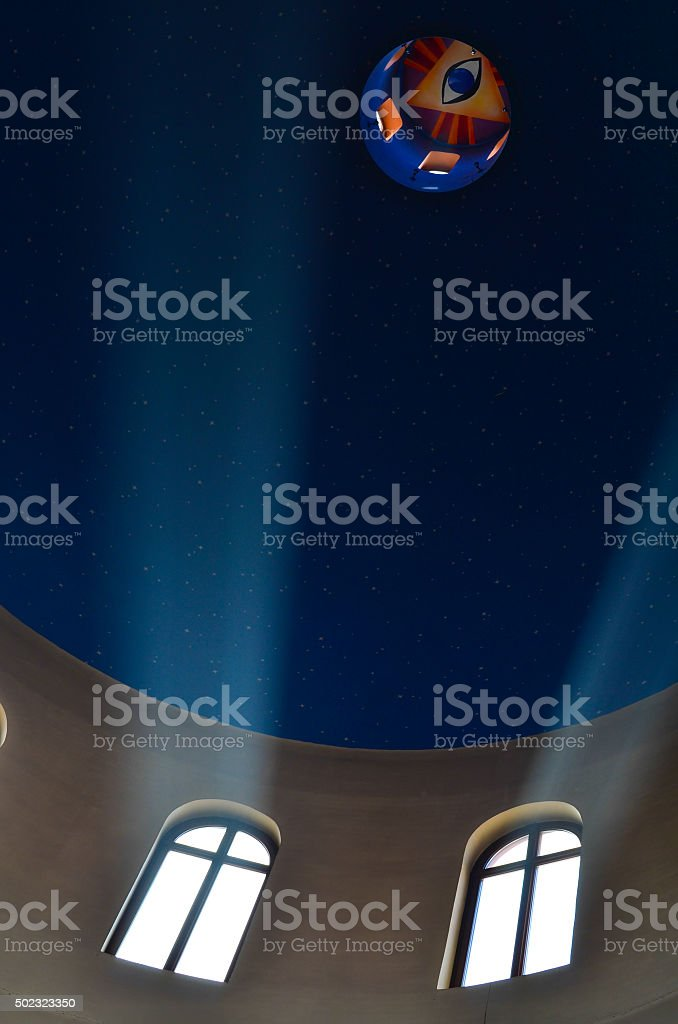 all-seeing eye stock photo