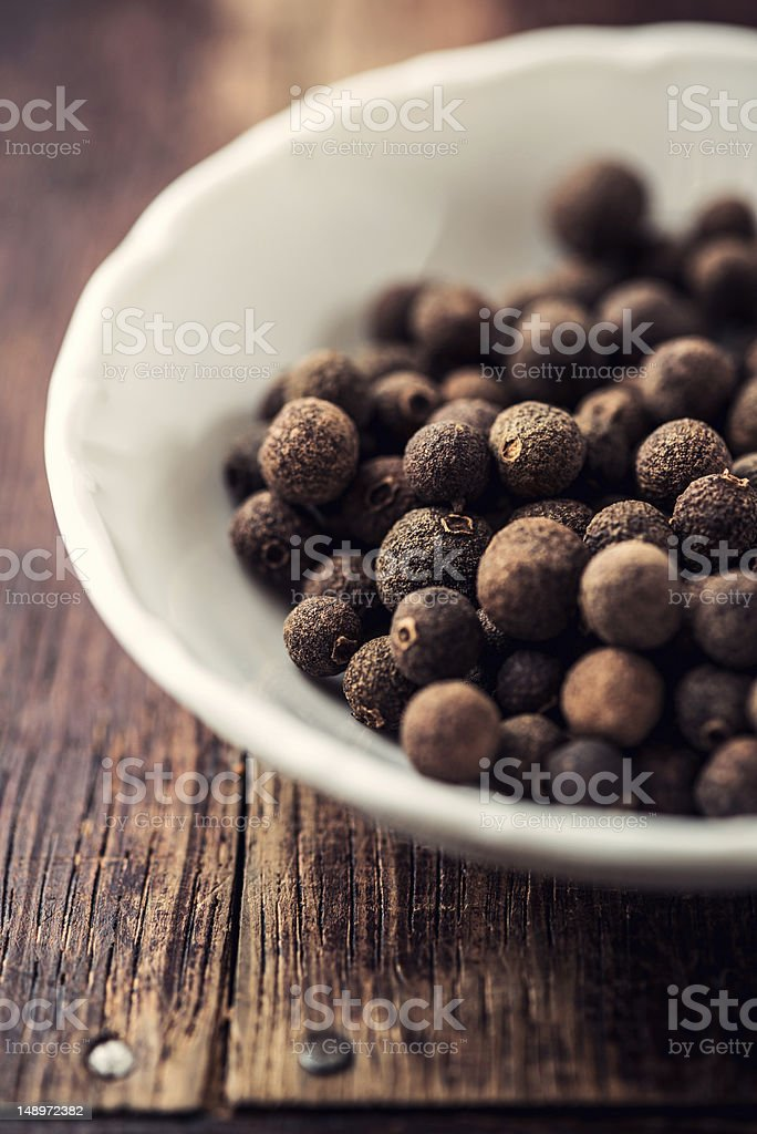 Allspice Berries stock photo