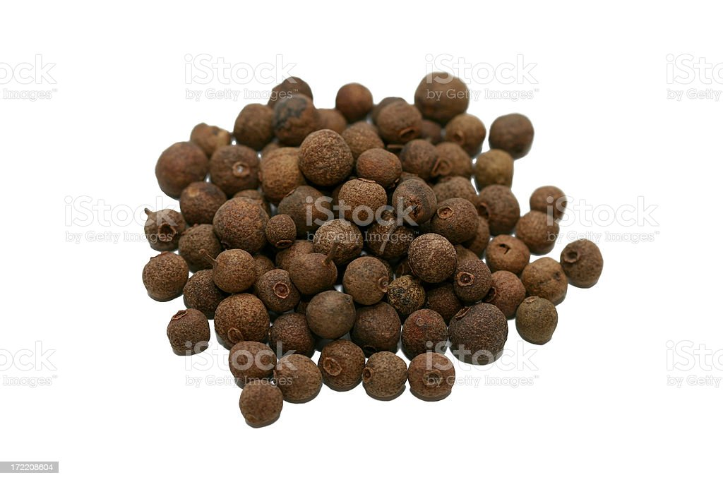 allspice macro stock photo
