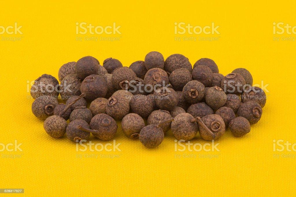 Allspice (jamaican pepper) stock photo