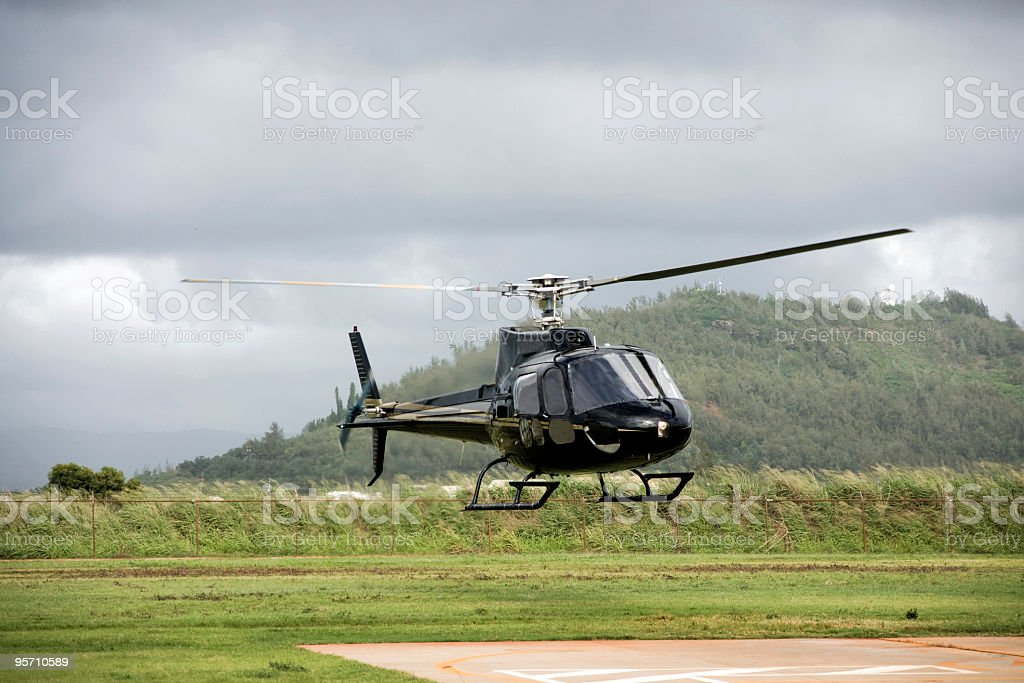 Allstar 350 Helicopter stock photo