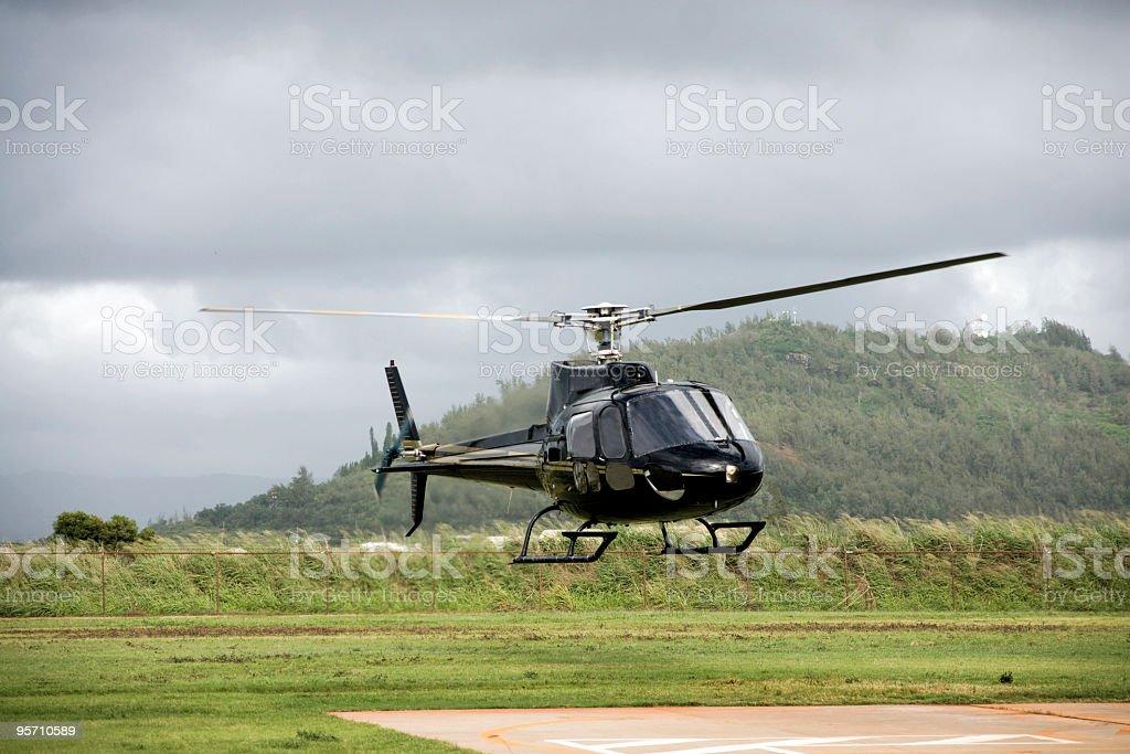 Allstar 350 Helicopter stock photo