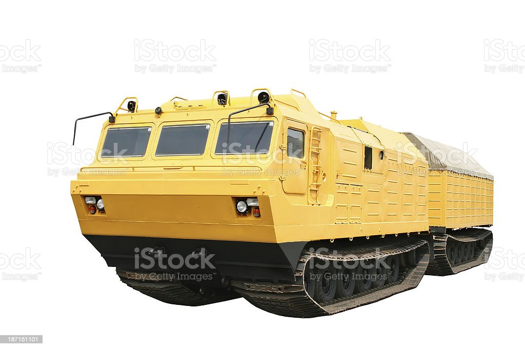 All-terrain vehicle stock photo