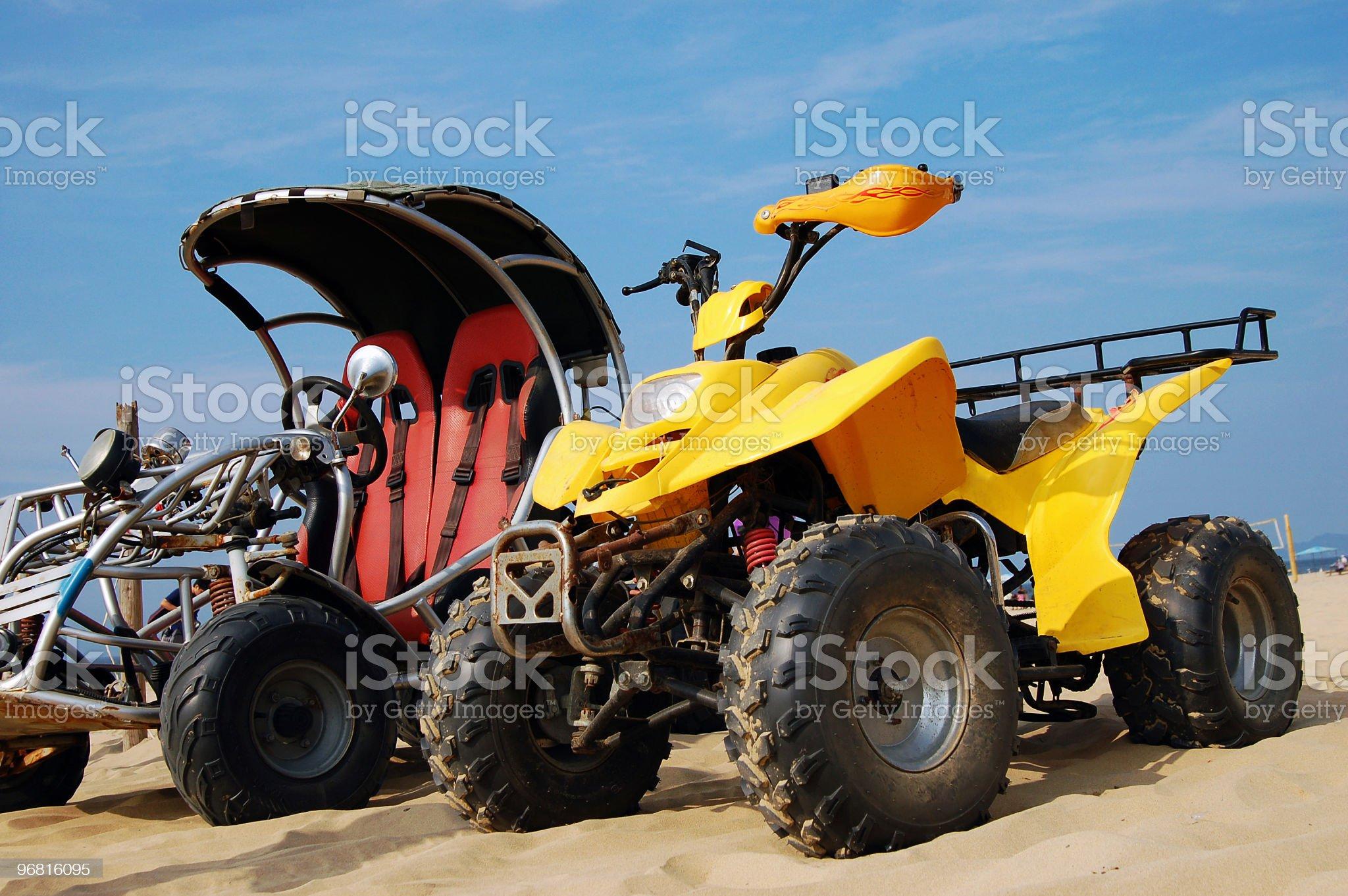 All-Terrain Vehicle royalty-free stock photo