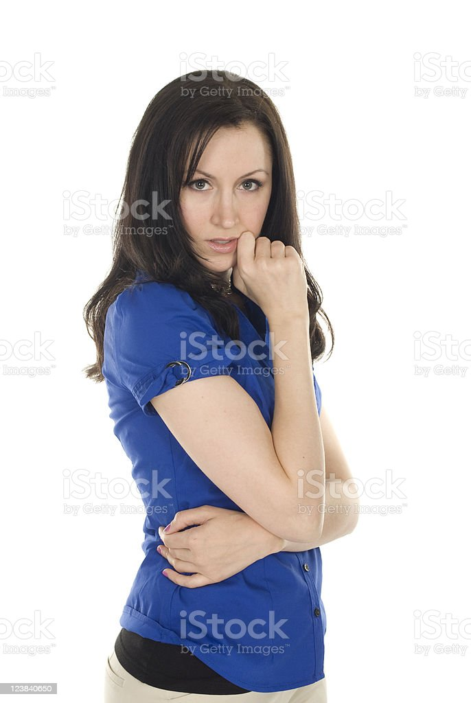 Alluring Young Lady royalty-free stock photo