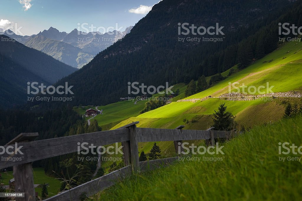 alm meadows royalty-free stock photo
