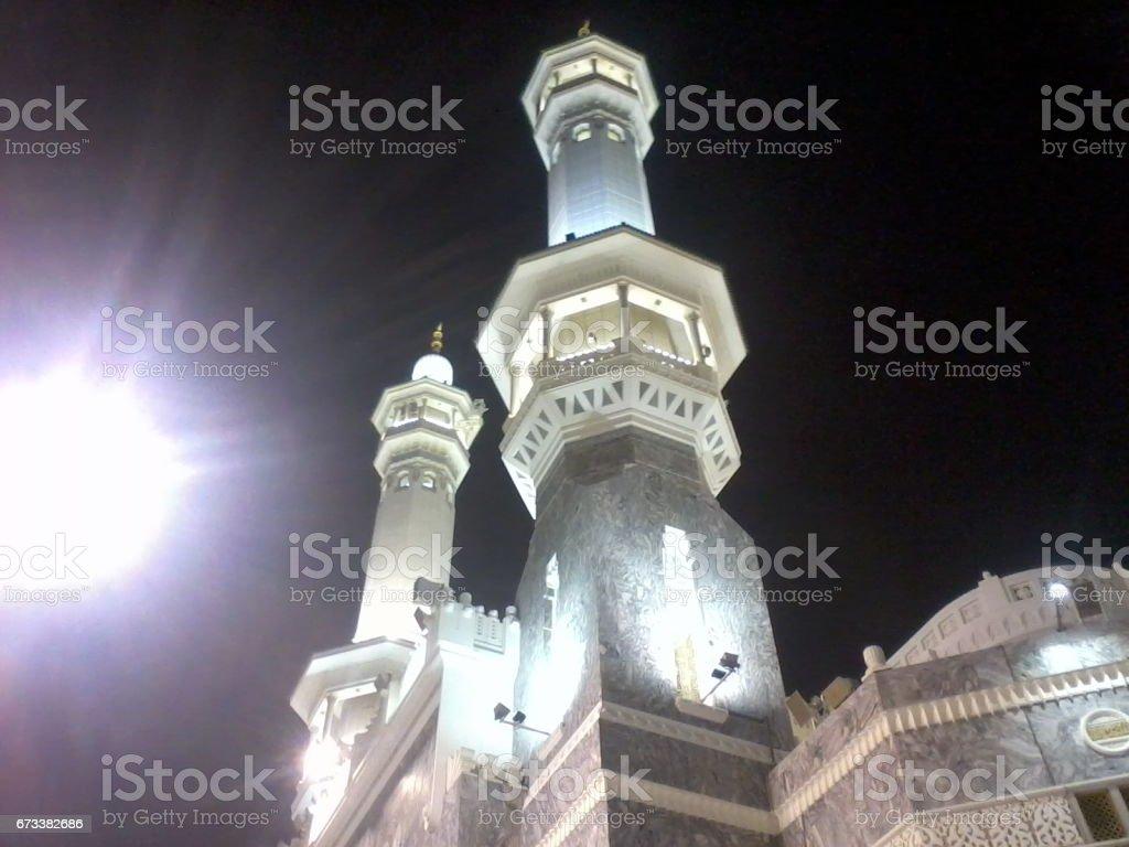 Almasjid AlHaram stock photo