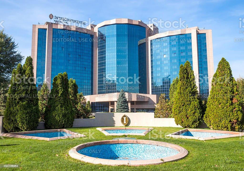 Almaty - InterContinental Hotel stock photo