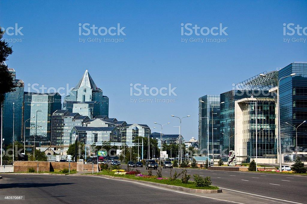 Almaty stock photo