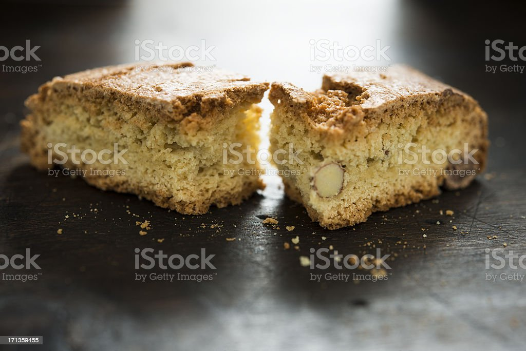 Almond Biscotti royalty-free stock photo