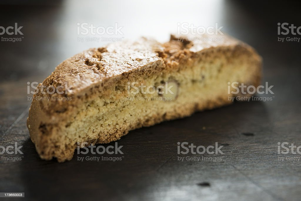 Almond Biscotti stock photo