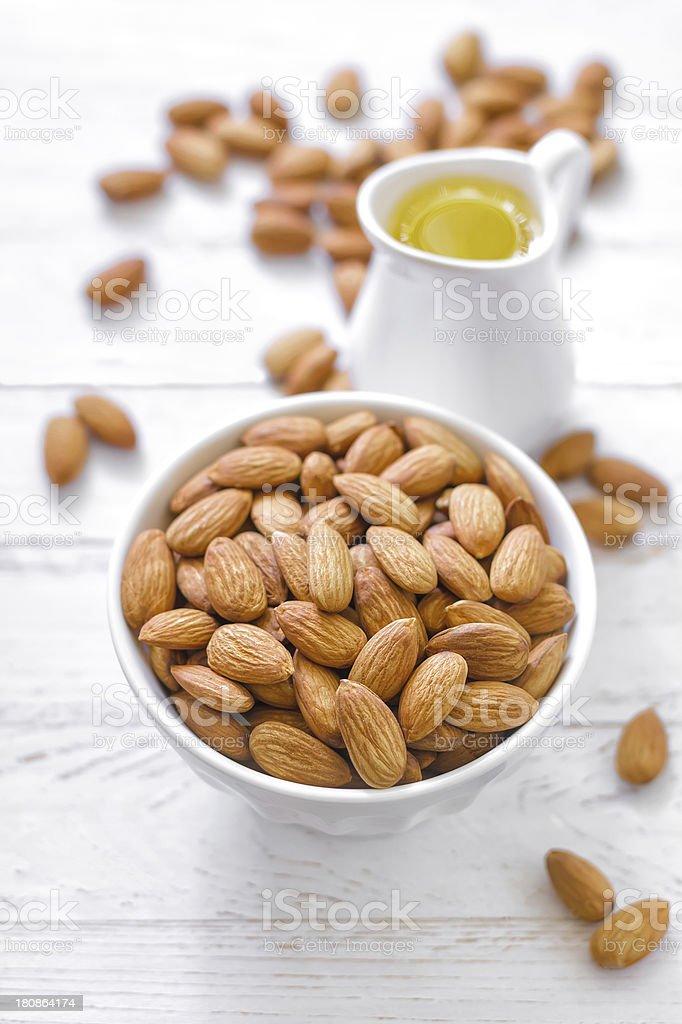 Almond oil royalty-free stock photo