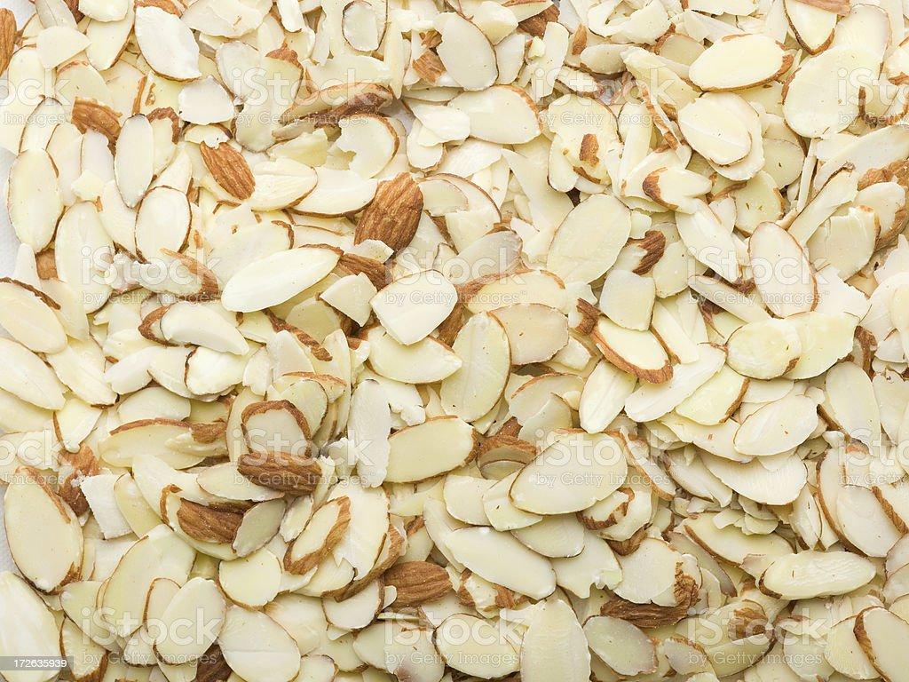 almond slices royalty-free stock photo