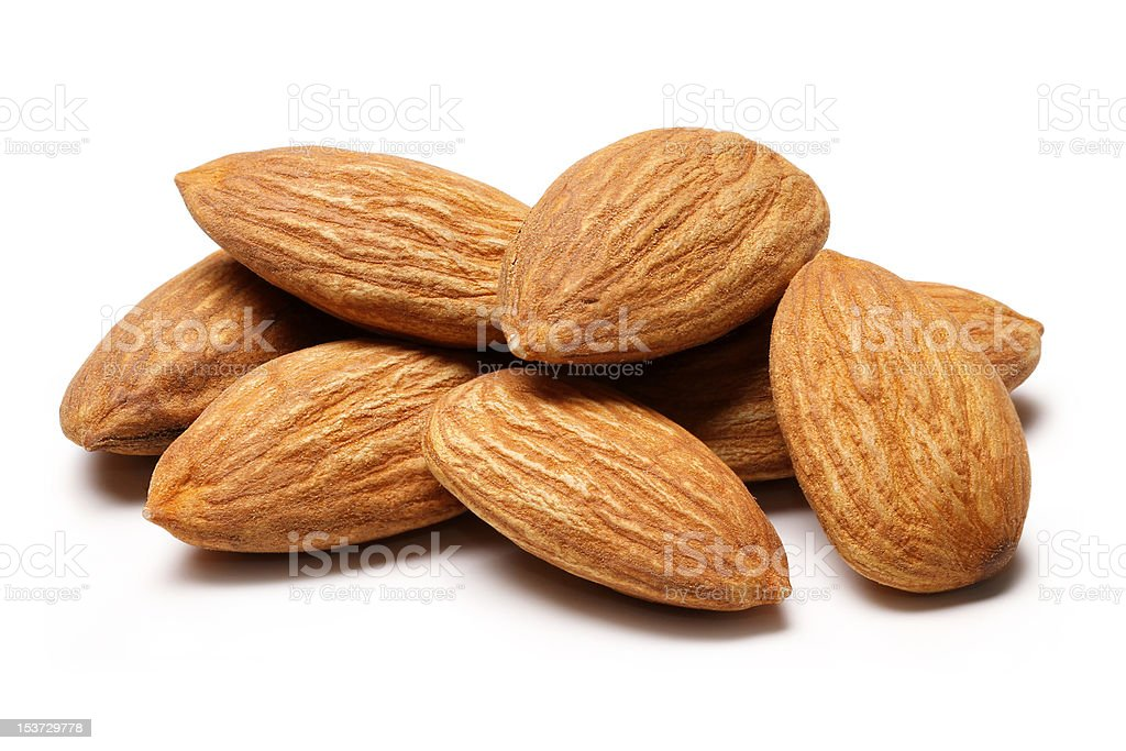 Almonds royalty-free stock photo