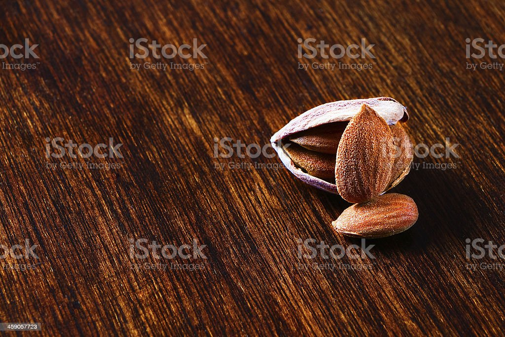 almonds shelled royalty-free stock photo