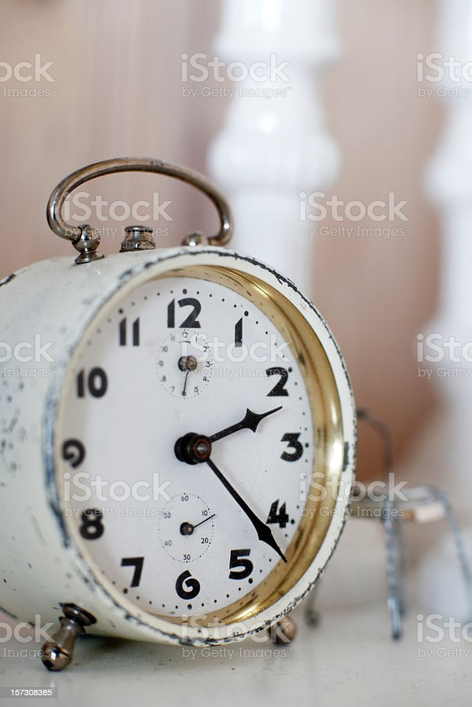 Almost 2.30 stock photo