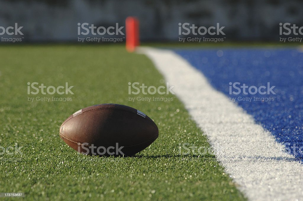 Almost a Touchdown stock photo