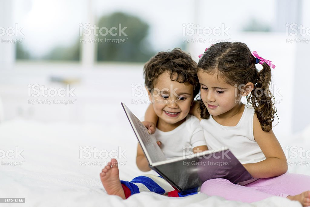 Almost Bedtime royalty-free stock photo