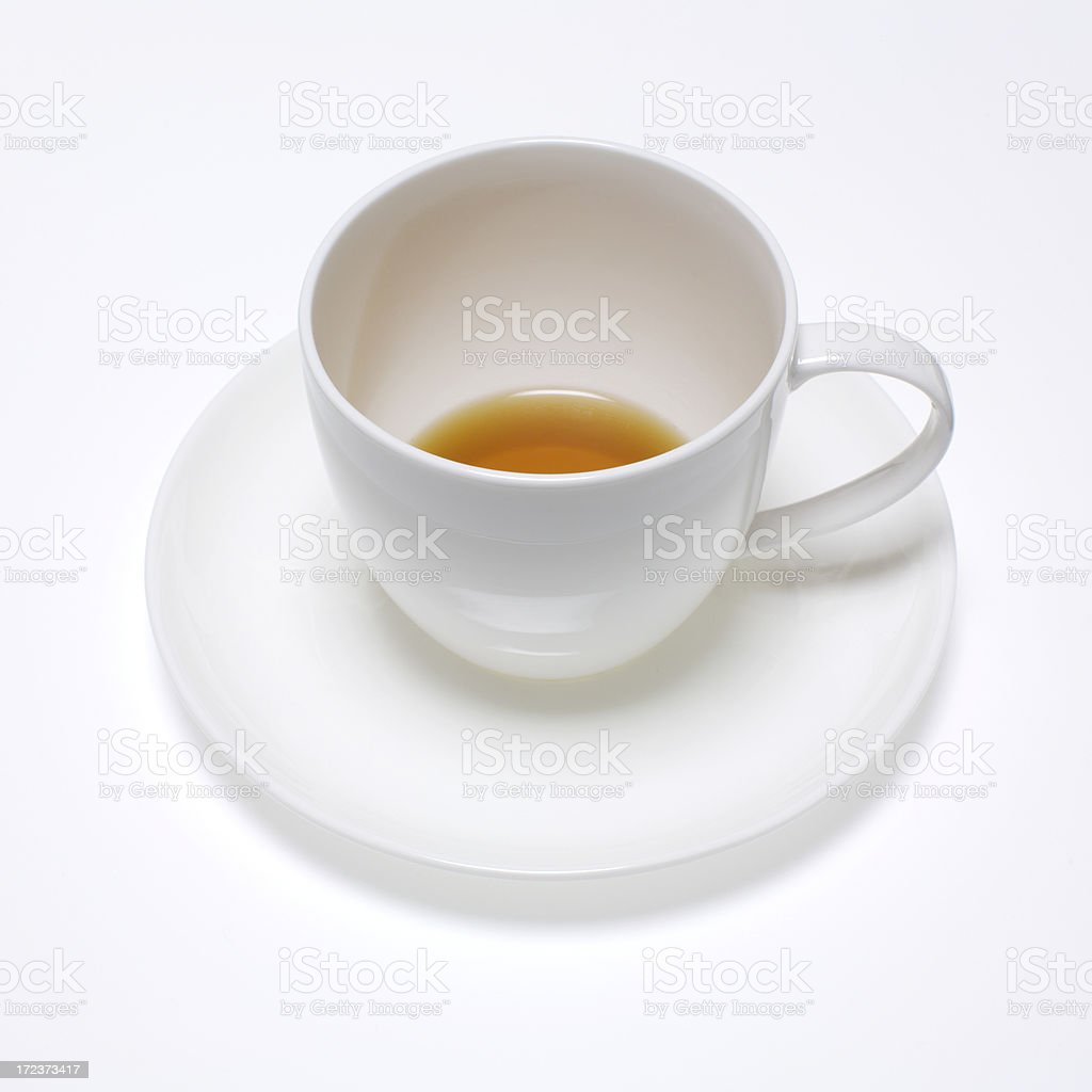 Almost empty royalty-free stock photo