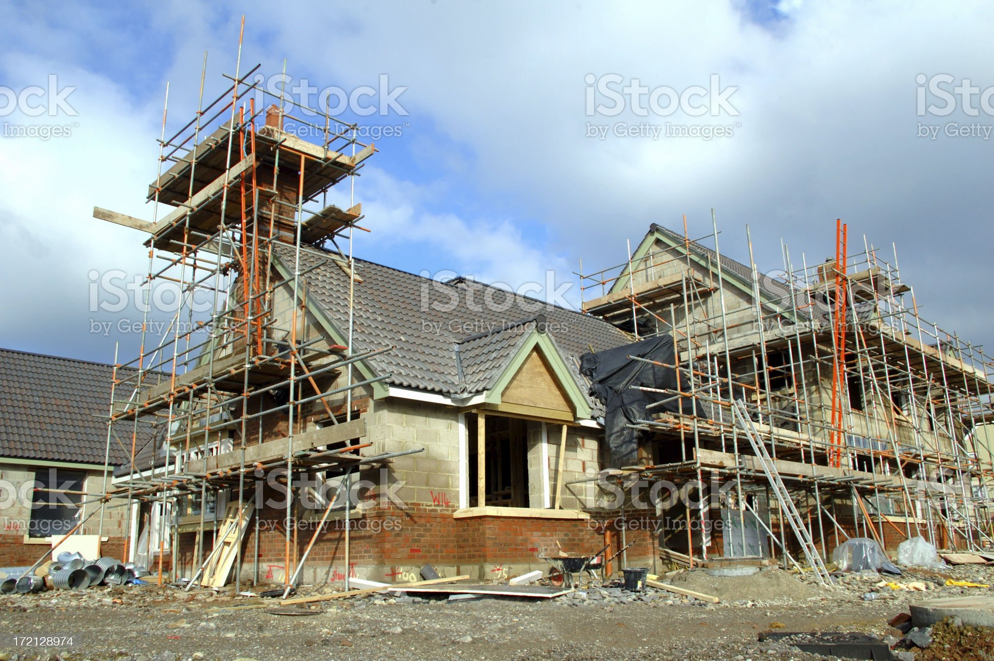 almost finished royalty-free stock photo