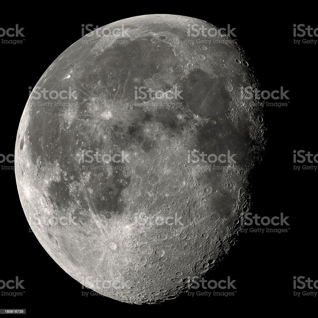 Almost Full Moon stock photo
