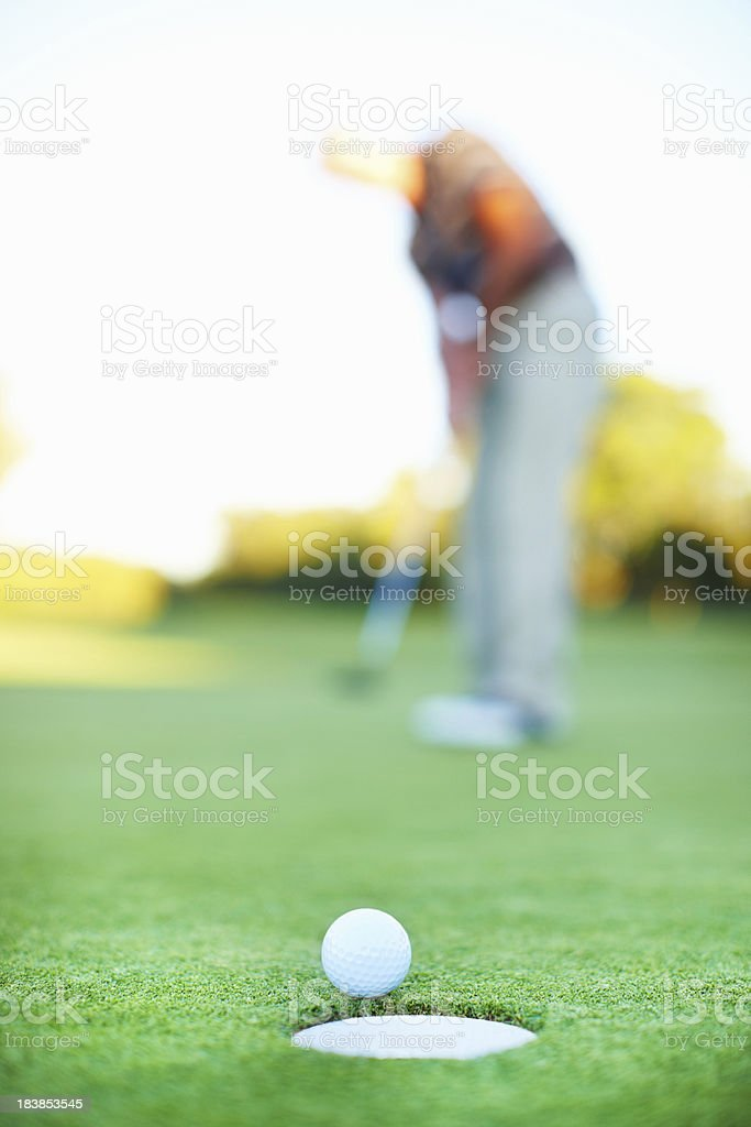Almost in royalty-free stock photo