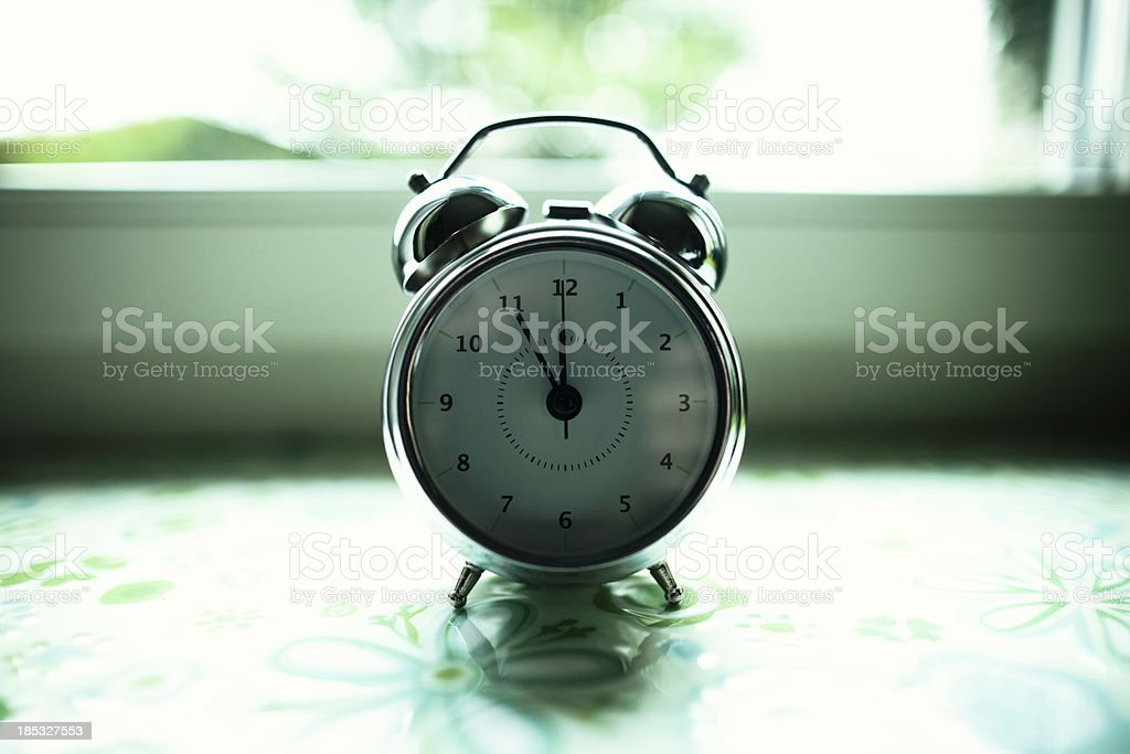 Almost midday! stock photo
