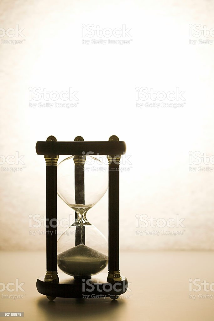 Almost Out of Time royalty-free stock photo