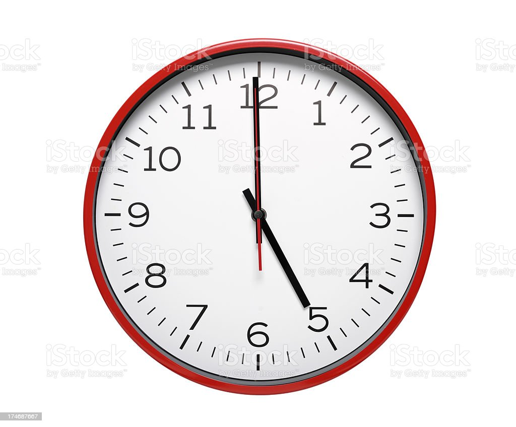 Almost Quittin' Time royalty-free stock photo