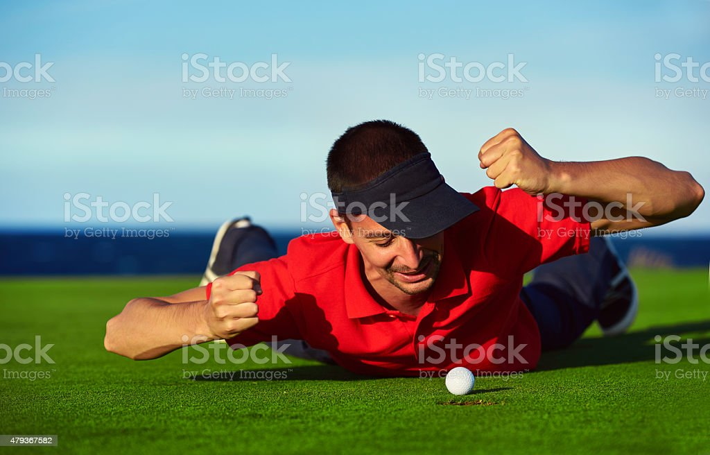 almost winning this game stock photo