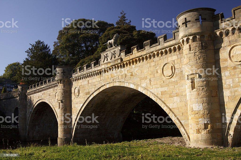Alnwick Bridge royalty-free stock photo