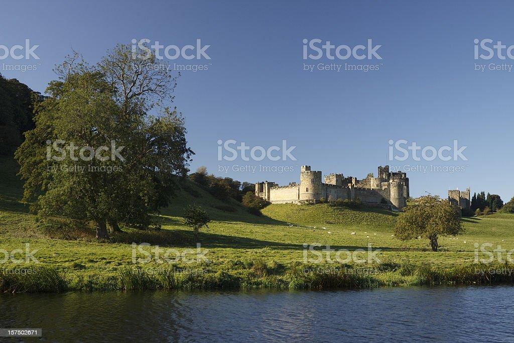 Alnwick Castle royalty-free stock photo