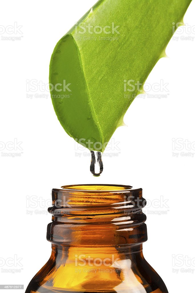 Aloe Extract stock photo