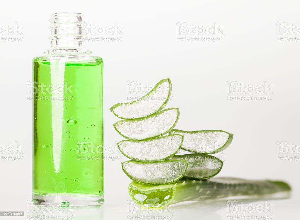 Aloe Vera Essential Oil stock photo
