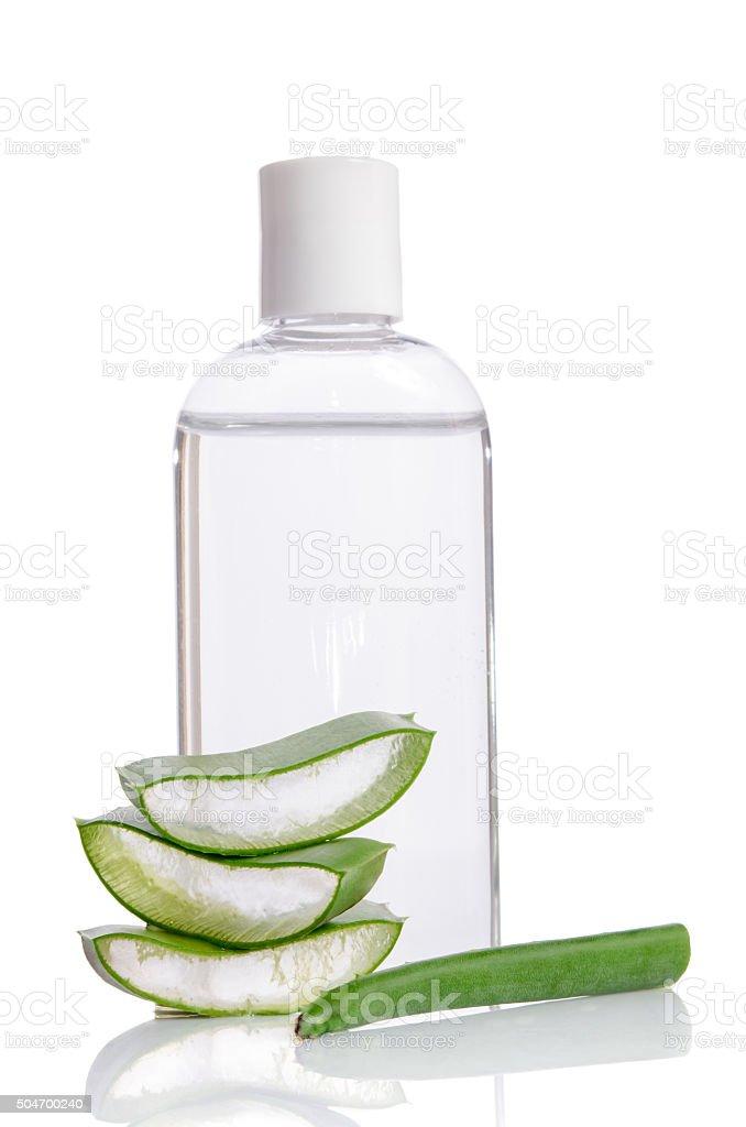 Aloe vera - herbal medicine stock photo