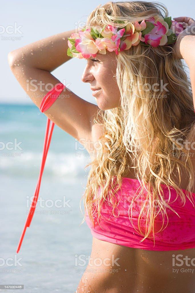 Aloha Hawaii royalty-free stock photo