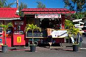 Aloha Juice Bar in Hanalei on Kauai, Hawaii