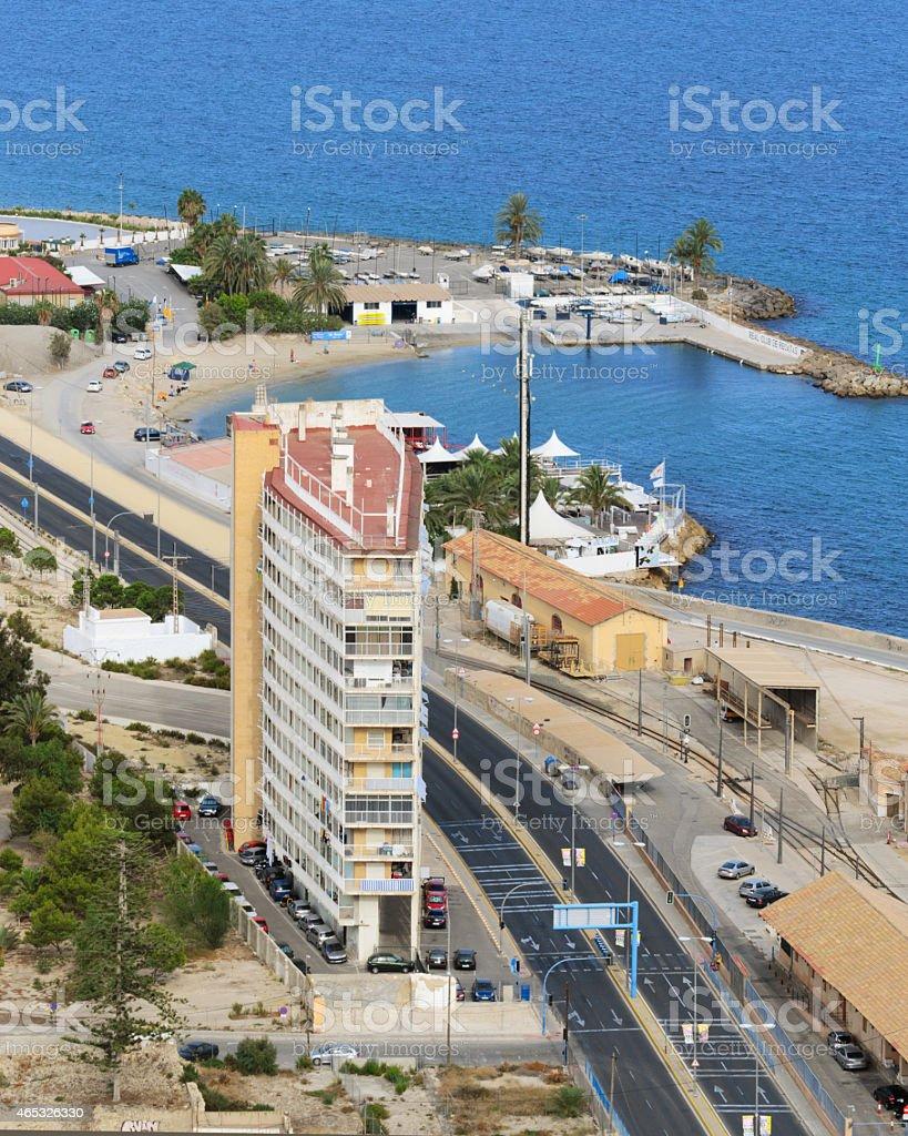 Solo casa de Alicante foto de stock libre de derechos