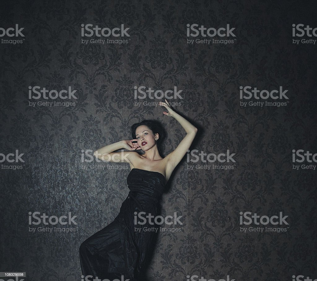 alone in home royalty-free stock photo