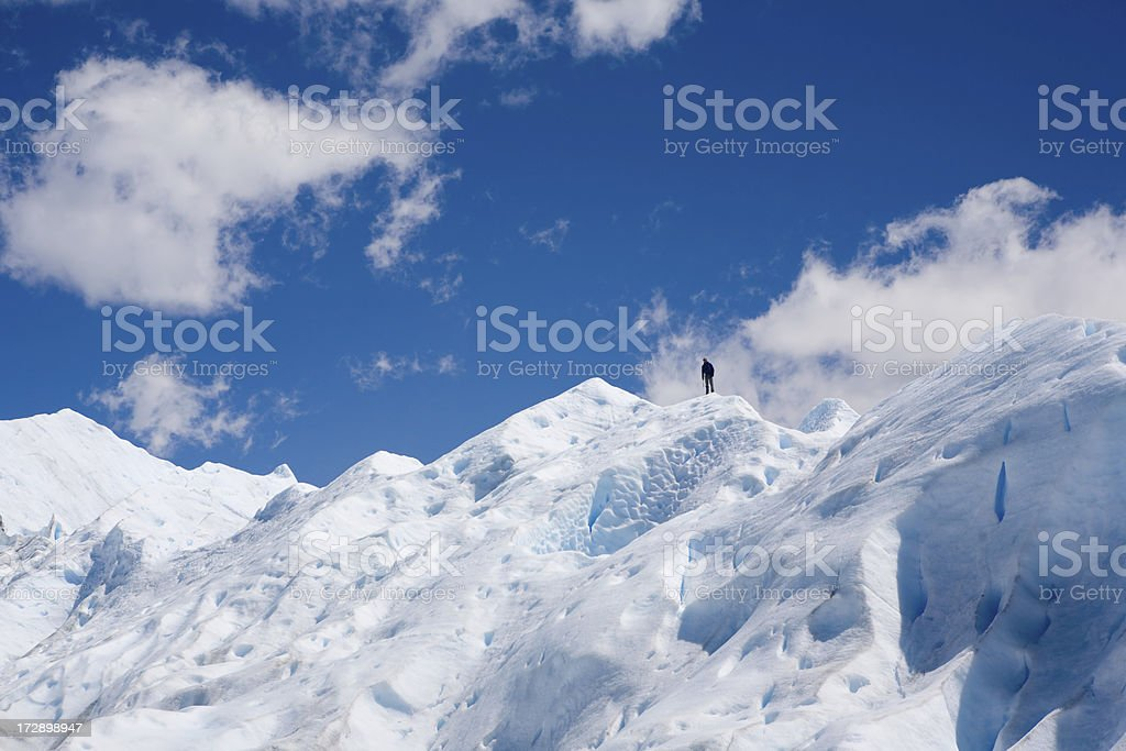 Alone in nature royalty-free stock photo
