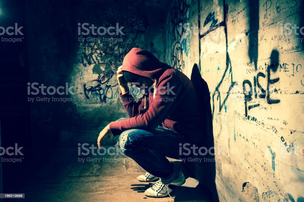 Alone in the Dark stock photo