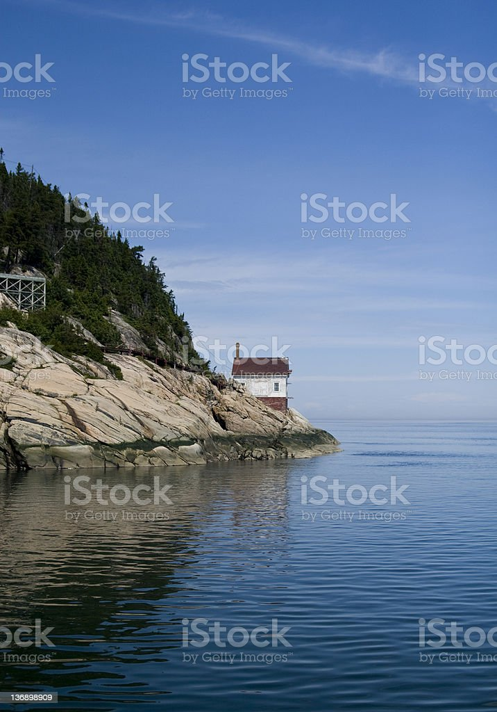 Alone on the edge royalty-free stock photo