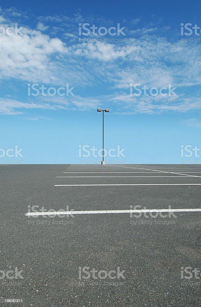 Alone royalty-free stock photo