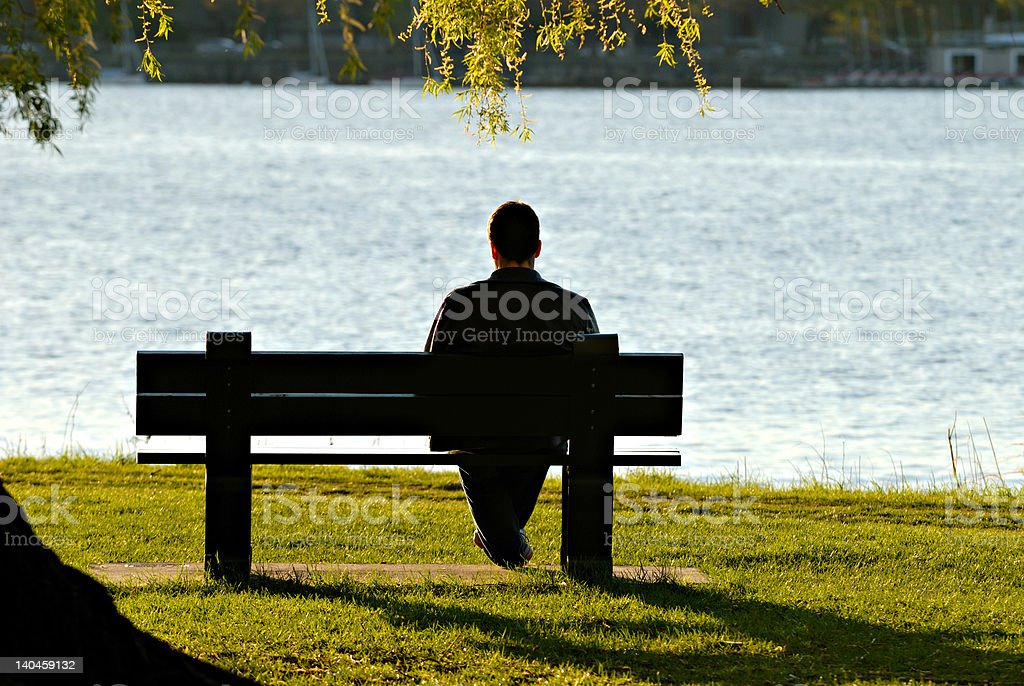 Alone stock photo