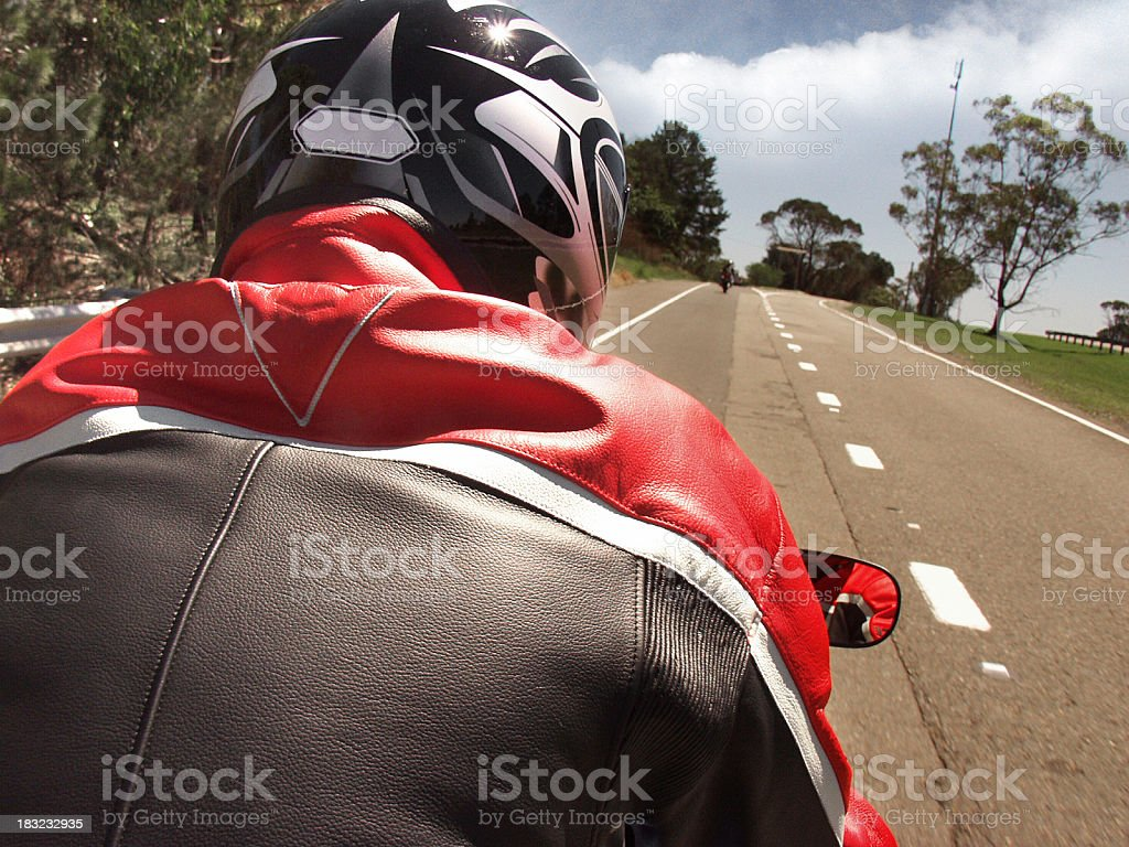Along for the ride royalty-free stock photo