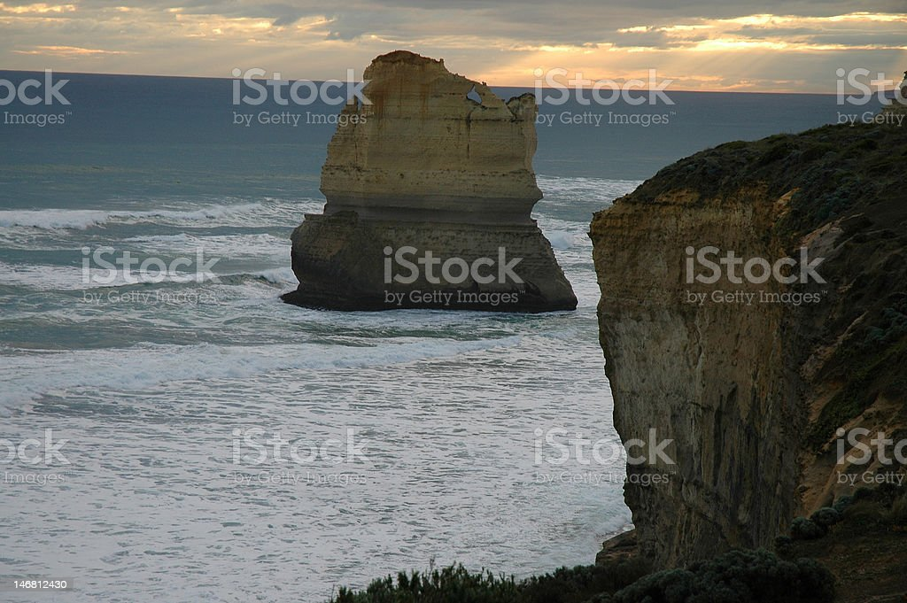 Sur la Great Ocean Road en Australie photo libre de droits