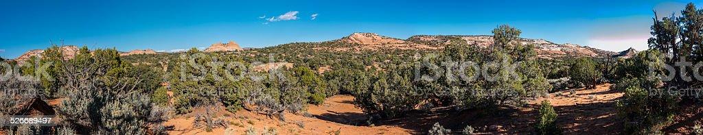 Along the Burr Trail Road near Boulder (Utah, United States) stock photo