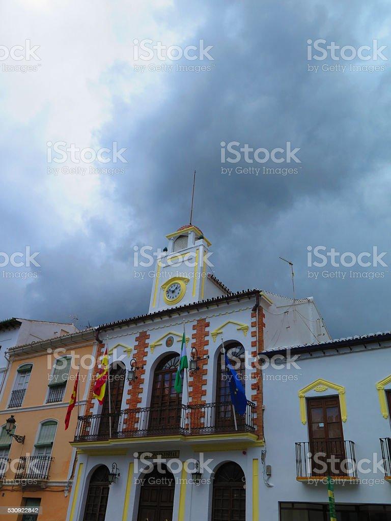 Alora Town Hall stock photo