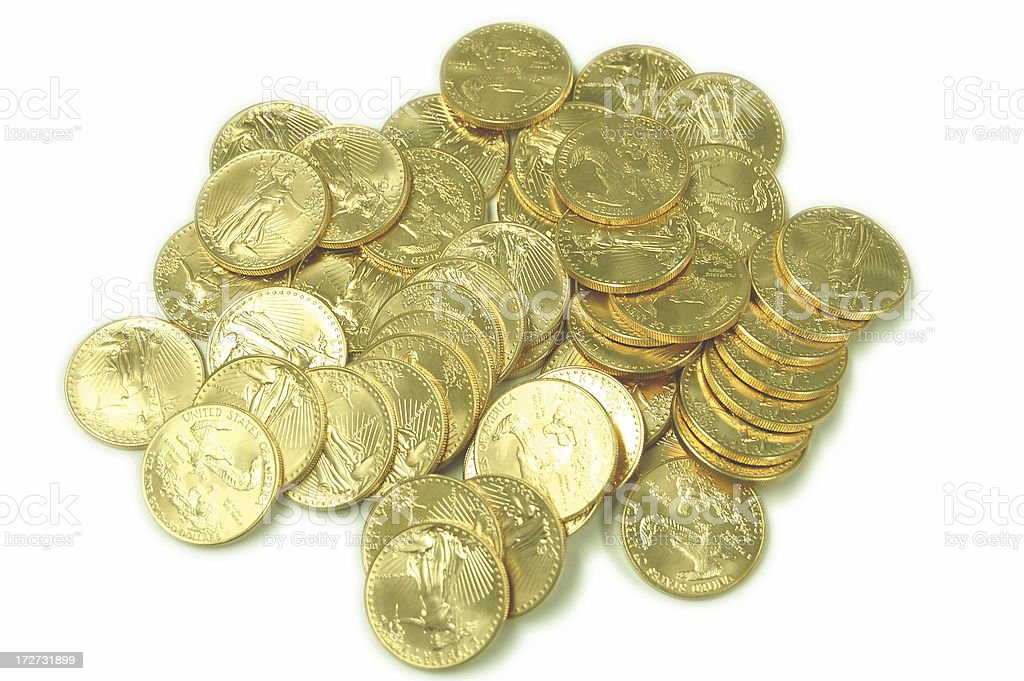 Alot of Gold royalty-free stock photo