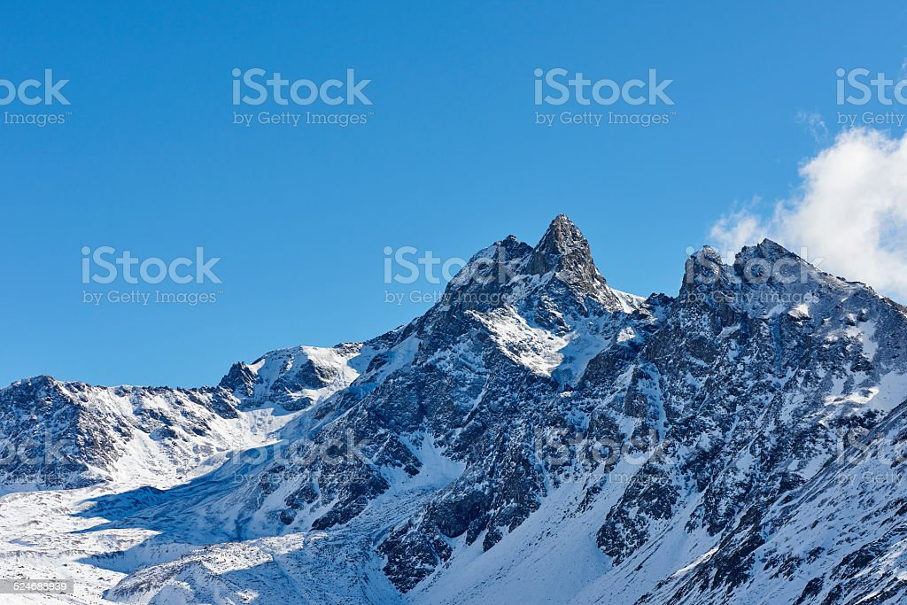 Alp Languard stock photo